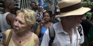 confusión turistas