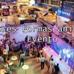 Mejores formas de animar un evento