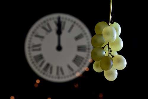 uvas para nochebuena